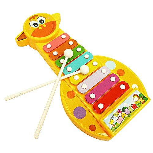 FIRMON Pädagogisches interaktiKind Baby Musikinstrument 8-Noten Xylophon Spielzeug Weisheitsentwicklung 3-10 Jahre Kinder Kids Pädagogisches Spielzeug Toys Lernspielzeug Sudoku