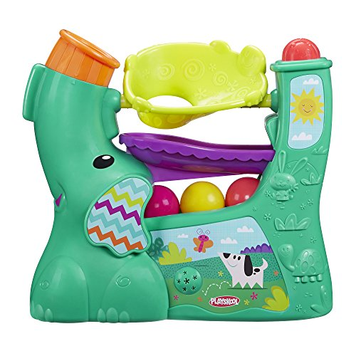 Playskool Chase n Go Ball Popper (Teal), Ages 9 months and up (Amazon Exclusive)