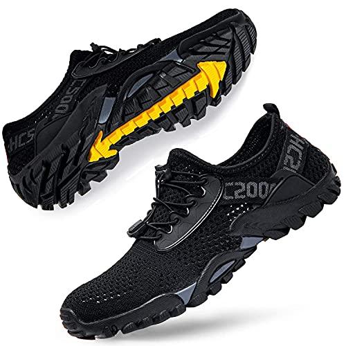 DimaiGlobal Trekking Scarpe da Spiaggia Uomo All'aperto Sandali Sneakers Sportivi Estivi...