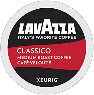Lavazza Classico Single-Serve Coffee K-Cups for Keurig Brewer, Medium Roast, 10 Count..