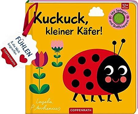 Mein Filz-Fühlbuch: Kuckuck, kleiner Käfer!