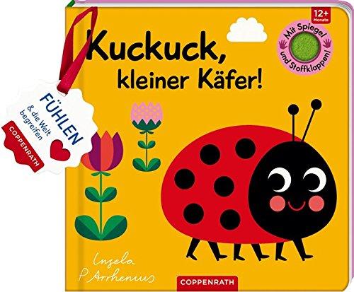 Mein Filz-Fühlbuch: Kuckuck, kleiner Käfer!: Fühlen und die Welt begreifen