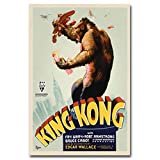 Poster und Drucke Hot New Classic Film Vintage King Kong