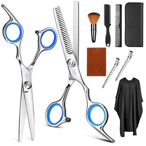 Juego de tijeras para cortar el cabello de Tijeras de peluquería...