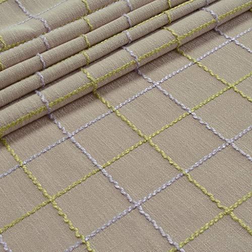 JXXDQ Nappe de table nappe de coton hôtel de salle à manger couverture de table de fête de mariage de tissu (Color : Light grey, Size : 110 * 160cm)