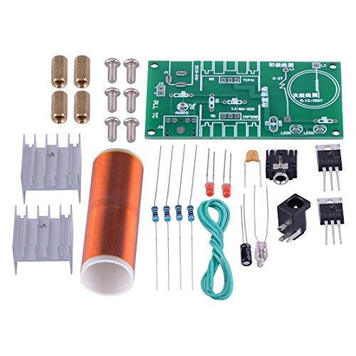 Eastar Musik Spielzeug 15W DIY Mini Tesla Spule Plasma-Lautsprecher Electronic Project Kit
