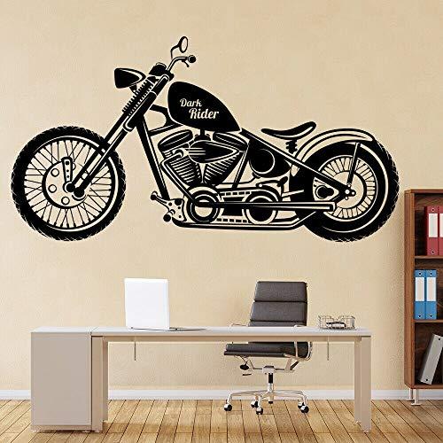 wZUN Knight Motorrad Wandaufkleber Jugendzimmer Home Decoration Kindergarten Kinderzimmer Motorrad Vinyl 57X30cm