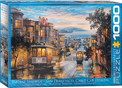 EuroGraphics 6000 – 2.430,8 cm San Francisco Cable Car Heaven Puzzle da Pezzi