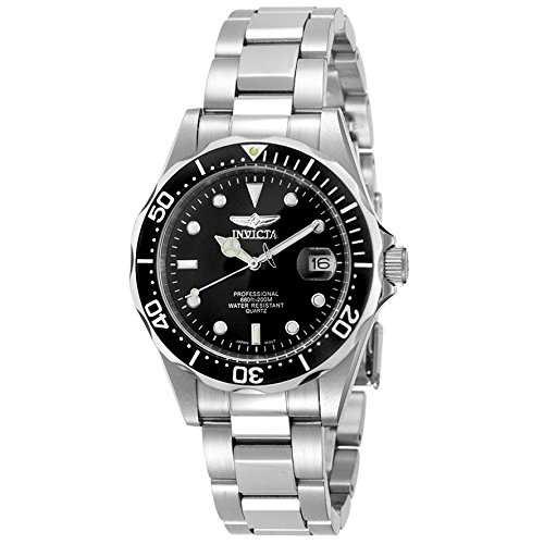 Invicta Men's 'Pro Diver' Quartz Stainless Steel Diving Watch