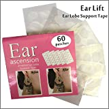 Provides relief to women who suffer from the unsightly enlargement of earring holes, a problem caused by heavy earrings Helps protect healthy ear lobes against tearing from the weight of earrings. Is an undetectable, hypoallergenic clear patch that i...