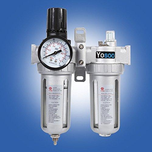 1/4 inch perslucht waterafscheider olieverf drukregelaar voor compressor onderhoudseenheid