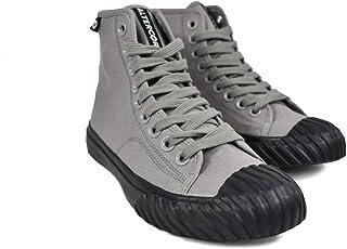 Altercore Salem Scarpe Ginnastica Tela Grigio Unisex Uomo Donna Sneakers Alte