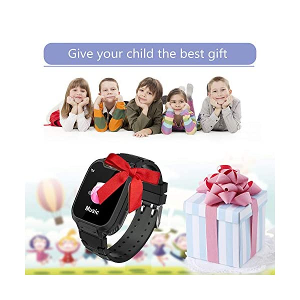 Niños Smart Watch Phone, La Musica Smartwatch para niños de 3-12 años Niñas con cámara Ranura para Tarjeta SIM Juego de… 7