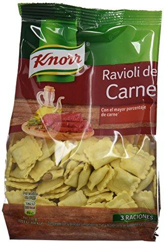 Knorr - Ravioli de carne - 250 g - [Pack de 12]