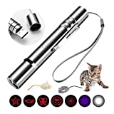 Toozey LED Pointer Cats Dog Toys Pet LED Light Pointer con USB Rechargeable Cat Toys Interactive...