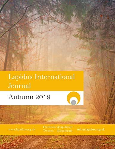 Lapidus Journal Autumn 2019 (English Edition)