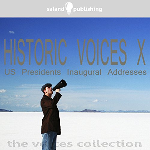 Historic Voices X audiobook cover art