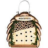 Gardigo Insektenhotel für Bienen und Marienkäfer |...