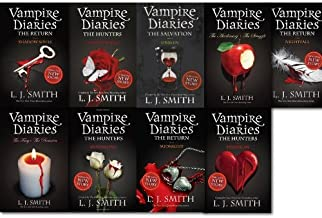 Vampire Diaries Collection Series 1-11, 9 Books set, By L J Smith Unseen, Destiny Rising, Moonsong, Phantom, Shadow Souls,...