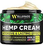 Hemp Cream 4 fl oz - Made in USA - Natural Hemp Extract...