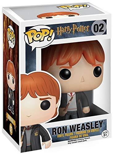Funko Pop! Harry Potter: Ron Weasley con el uniforme de Hogwarts