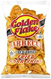 Golden Flake Snack Foods Barbecue Flavored Fried Pork Skins 3 oz. Bag (6 Bags)