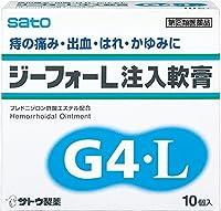 【指定第2類医薬品】ジーフォーL注入軟膏 10個