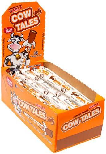 Goetze s Cow Tales Caramel Cream Sticks 36 Piece Box product image