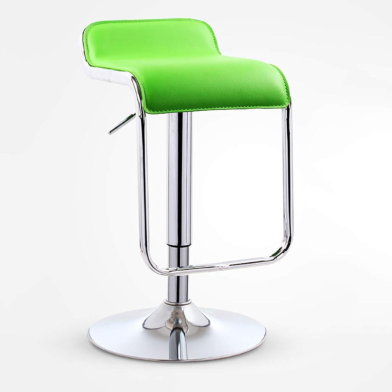 Bar Chair Lift Home bar Stool high Stool bar Chair redating high Stool Modern Minimalist bar Chair (color   C)