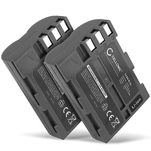 CELLONIC 2X Batería Premium Compatible con Nikon D50 D70s D80 D90 D200 D300 D300S...
