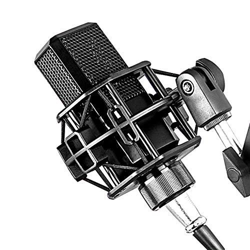 WWK Micrófono De Condensador De La Grabación, La Computadora Móvil Transmisión En Vivo De Membrana Grande con Conexión De Cable del Micrófono por Profesionales Transmisión En Vivo Y Grabación
