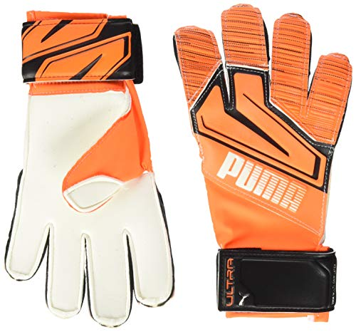 PUMA Uni Torwarthandschuhe Puma Ultra Grip 3 RC, Shocking Orange-Puma White-Puma Black, 8, 41699