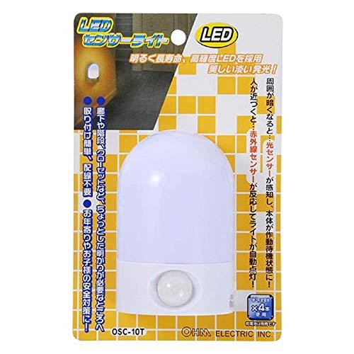 LEDセンサーライト OSC-10T