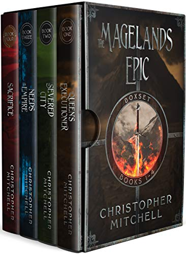 The Magelands Epic (Books 1-4) An epic fantasy series (Magelands Box Set Book 1) by [Christopher Mitchell]