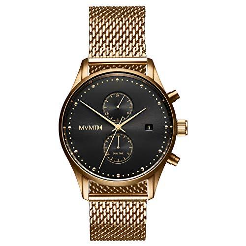 MVMT Voyager Watches | 42 MM Men's Analog Watch | Eclipse Mesh