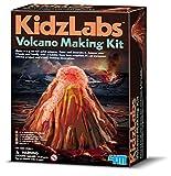 4M KidzLabs Volcano Making Kit - DIY Geology Chemistry Lab STEM Toys Gift for Kids & Teens, Boys & Girls, Model:3431