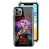 ZENGMING Stranger Things Multi Colored Case For Apple iPhone Clear Soft Airbag Anti Phone Cover A03 For Funda iPhone 7 (iPhone 8)