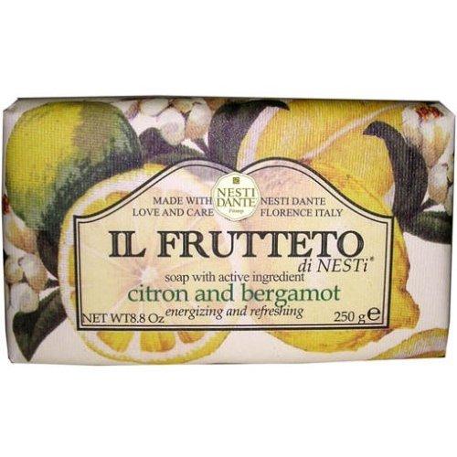 Nesti Dante Il Frutteto Citron et Bergamote, Savon Végétale, 250 gr