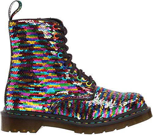Dr.Martens 1460 Pascal Sequin 24594980 Shift Sequins Synthetic Womens Boots - Rainbow - 4