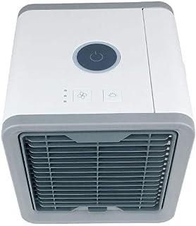 LIANGJIE Ventilador de Aire Acondicionado portátil pequeño Ventilador de Aire Acondicionado enfriado por Aire pequeño Dormitorio para el hogar Ventilador de Aire Acondicionado portátil pequeño