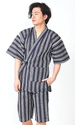 KOMESICHI Men's Japan Kimono Jinbei