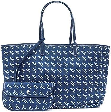 Leather Tote Bag for Women Large Work Bag Handbag Purse Shopping Shoulder Bags Tote product image