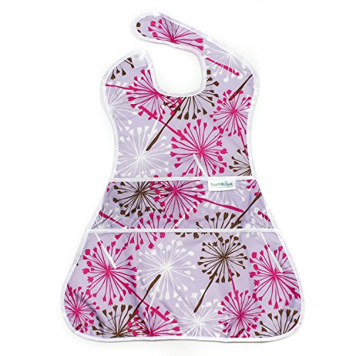 Bumkins SuperSized SuperBib, Oversized Baby Bib, Waterproof, Washable, Stain and Odor Resistant, 6-24 Months