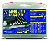 Vallejo Model Air aerógrafo Set con los colores básicos