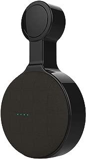 cutemom Speaker Stand Outlet Wall Mount Holder Compact Speaker Hanger Stand Grip for Google Home Mini Black
