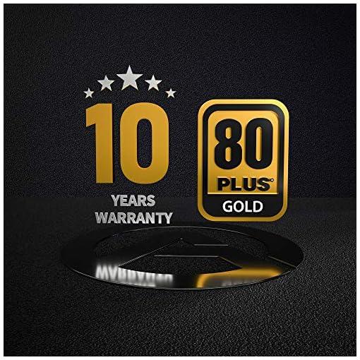 ARESGAME AGS750 750W Semi Modular 80+ Oro Certificado PC Poder Suministro 2