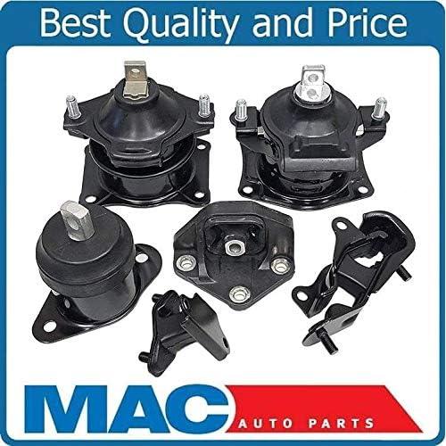 mac auto parts 127229 honda accord 3 0l engine motor mount mounts kit6  piece kit