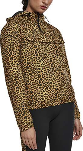Urban Classics Damen Ladies Pattern Pull Over Jacket Jacke, Mehrfarbig (Leo 01720), Medium (Herstellergröße: M)