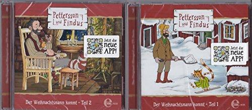 Pettersson & Findus - Der Weihnachtsmann kommt Teil 1+2 - Hörspiel zur TV-Serie - im Set - Deutsche Originalware [2 CDs]