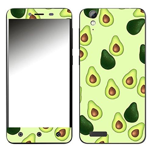 Disagu SF-108099_1122 Design Folie für Phicomm Energy 2 - Motiv Avocados Muster grün